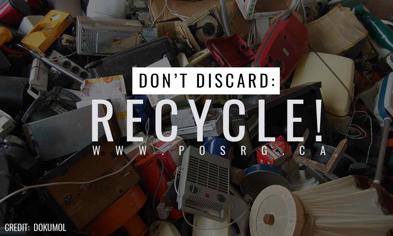 Don't discard Recycle