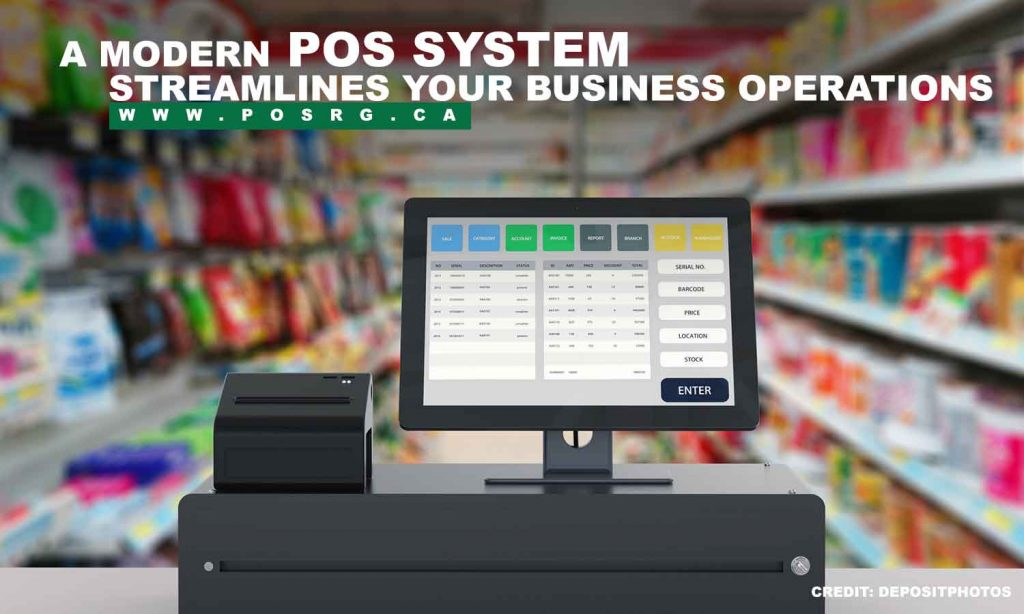 A modern POS system streamlines your business operations