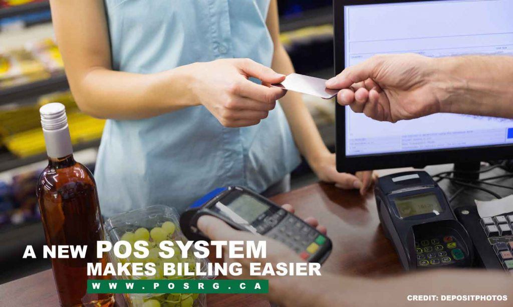 A new POS system makes billing easier