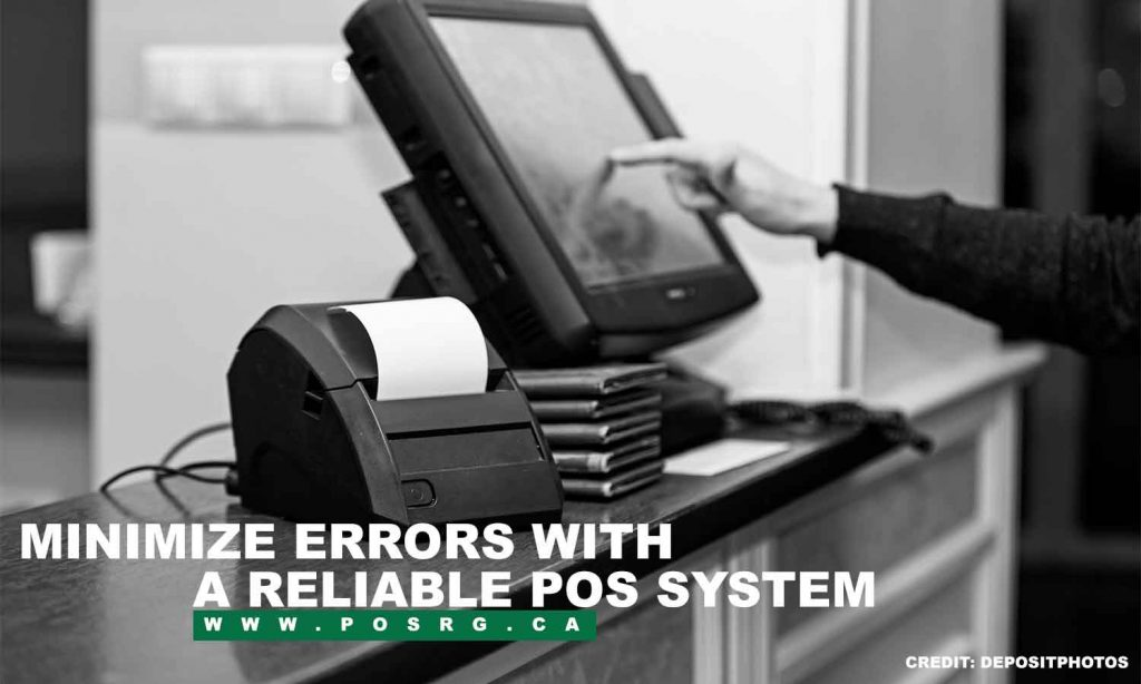 Minimize errors with a reliable POS system