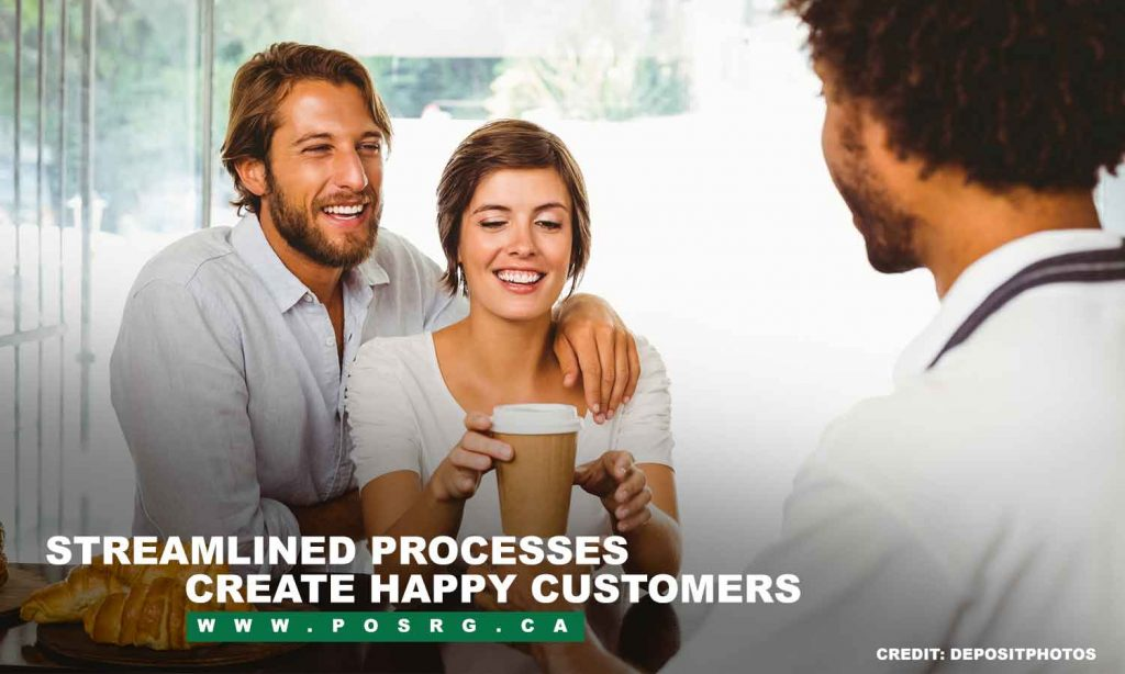 Streamlined processes create happy customers
