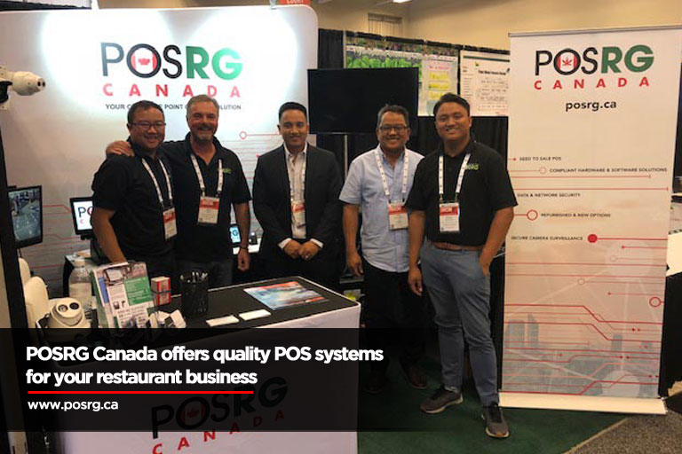 POSRG Canada offers quality POS systems for your restaurant business