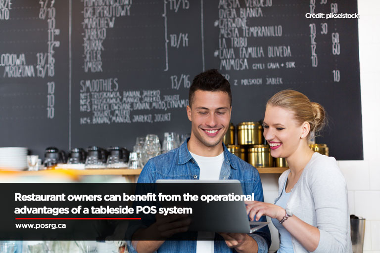 Restaurant owners can benefit from the operational advantages of a tableside POS system