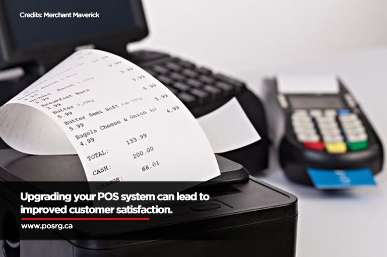 Upgrading your POS system can lead to improved customer satisfaction.
