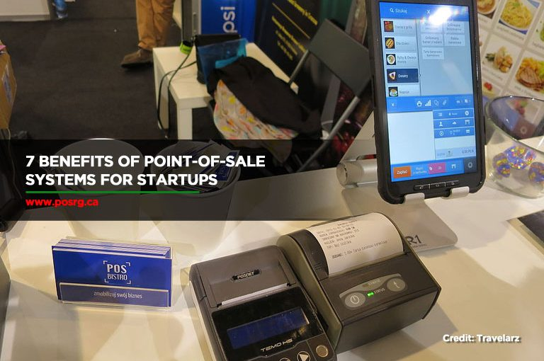 7 Benefits of Point-of-Sale Systems for Startups