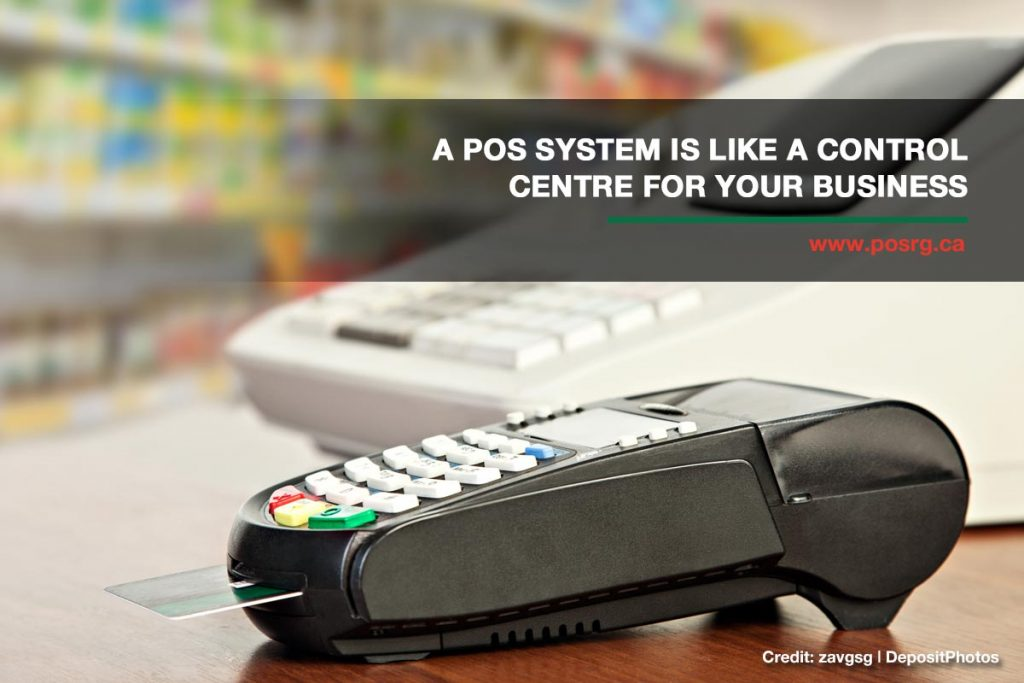 A POS system is like a control centre for your business