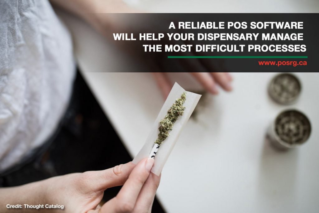 A reliable POS software will help your dispensary manage the most difficult processes